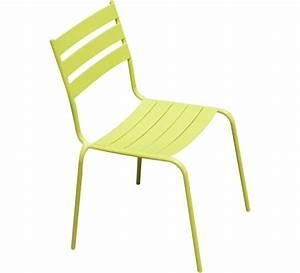 Chaise Salon De Jardin : chaise de jardin paris lux vert anis 29 salon d 39 t ~ Teatrodelosmanantiales.com Idées de Décoration