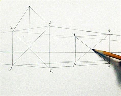 Haus Perspektivisch Zeichnen by Ein Haus Perspektivisch Zeichnen Mit Fluchtpunkten Und