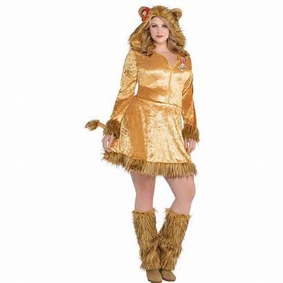 Wizard Lion Oz Costume Cowardly Plus Adult