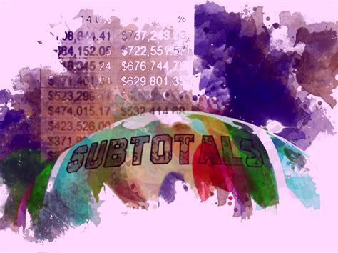 Subtotals – A Trick I Didn't Know – Veronique Frizzell