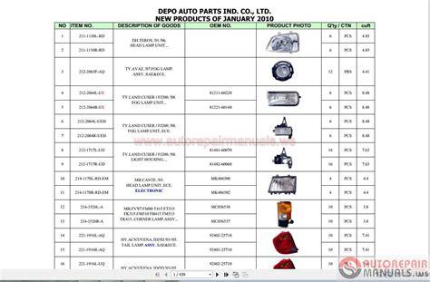 depo auto ls catalog pdf depo parts catalog 12 2013 auto repair manual forum