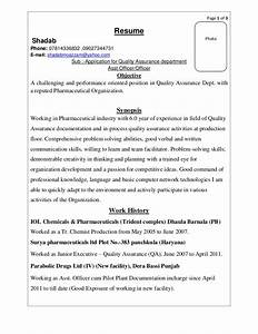 resume sm With free resume of pharmaceutical quality assurance