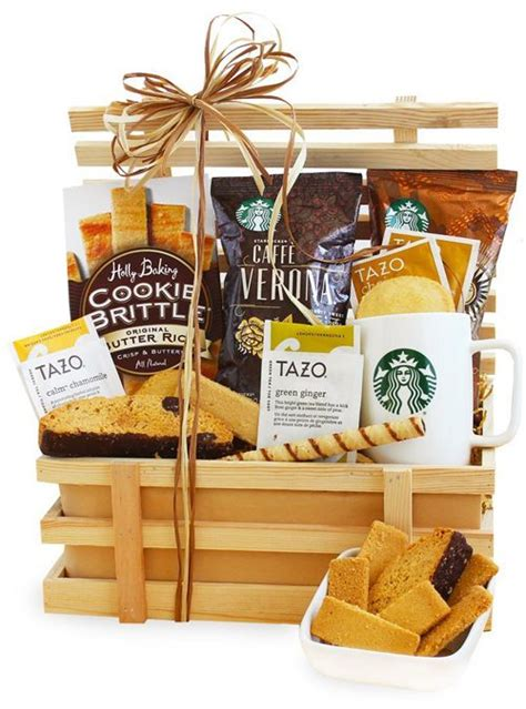 starbucks pick   biscotti gift crate sweepstakes