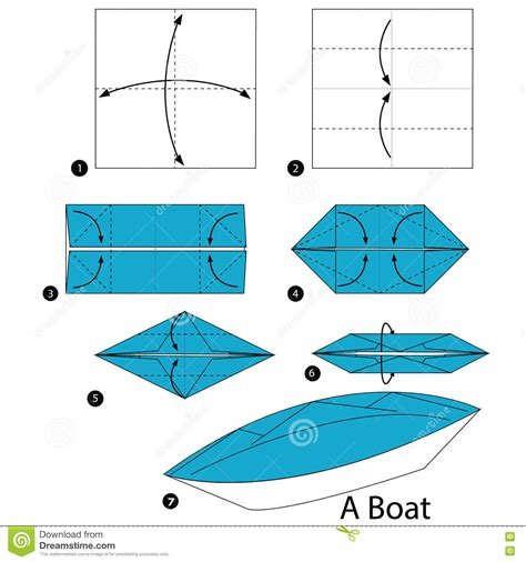 Origami Twin Boat Video by Step By Step Instructions How To Make Origami A Boat