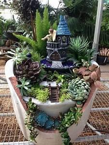30 diy ideas how to make fairy garden architecture design With feuerstelle garten mit bonsai 500 years old