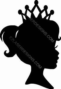 Princess Silhouette: EZ Laser Designs