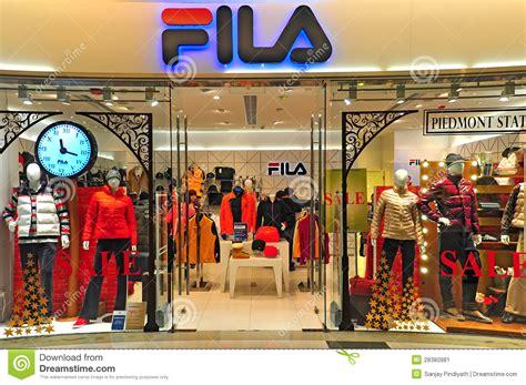 fila outlet hong kong editorial photo image  fashion