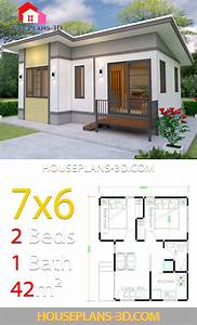 Small House Plans 7x6 With 2 Bedrooms