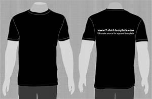 T shirt vector template for T shirt template with model