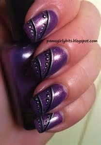 Girly bits simple nail art