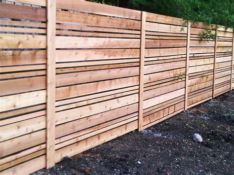 pictures of horizontal fences sweetwater landscape and projects project gallery