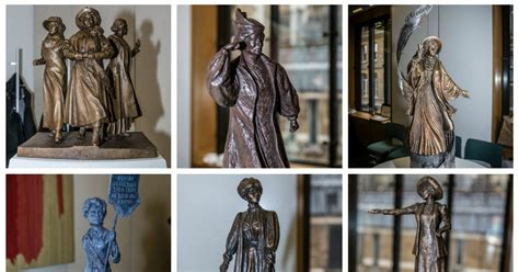 shortlisted statues  emmeline pankhurst manchester