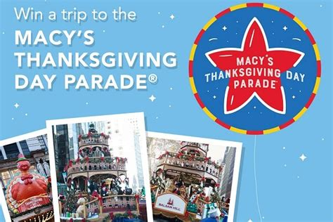 balsamhillcom macys thanksgiving day parade sweepstakes
