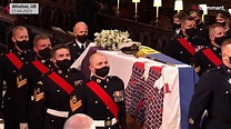 Queen and royal family at funeral of Prince - One News ...