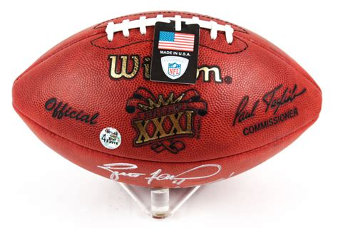 Brett Favre Signed Super Bowl Xxxi Official Nfl Game Ball