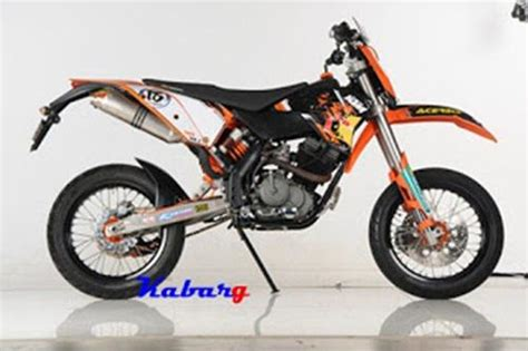 Harga Modifikasi Motor Trail by Harga Modifikasi Motor Suzuki Satria Fu 150 Jadi Trail