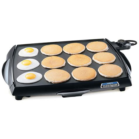 electric griddle stove counter grill tops flat cookware pancake cooker