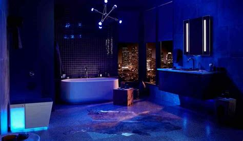 Bathroom Mood Lighting by Kohler Unveiled A 7 000 Smart Toilet With Built In