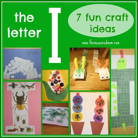 7 crafts for the letter i the measured 547 | the measured mom letter I craft ideas 1024x1024
