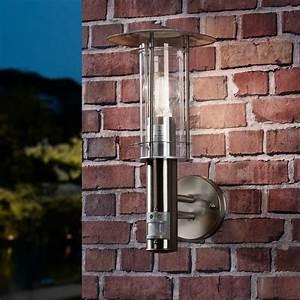 Licht Bewegungsmelder Aussen : stilsichere au en wandleuchte lisio mit bewegungsmelder click ~ Eleganceandgraceweddings.com Haus und Dekorationen
