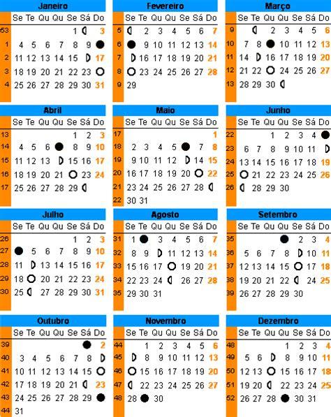 calendario lunar de