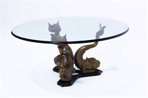 Free shipping on orders over $35. Brass Italian Dolphin Coffee Table at 1stdibs
