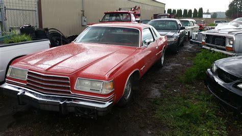 1978 dodge magnum for sale: 1978 Dodge Magnum XE Automatic For Sale in Spokane, Washington