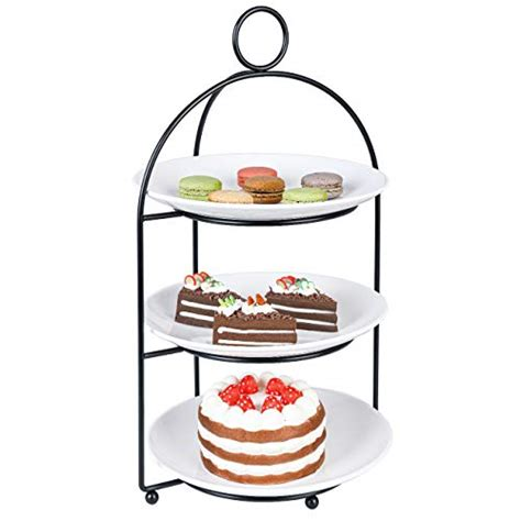tiered plate stand cupcake stand  tiered cake dessert fruit cookies appetizer display stand