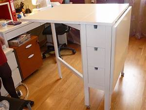 Table De Coupe IKEA Pliante Norden Ma Maman La Fe
