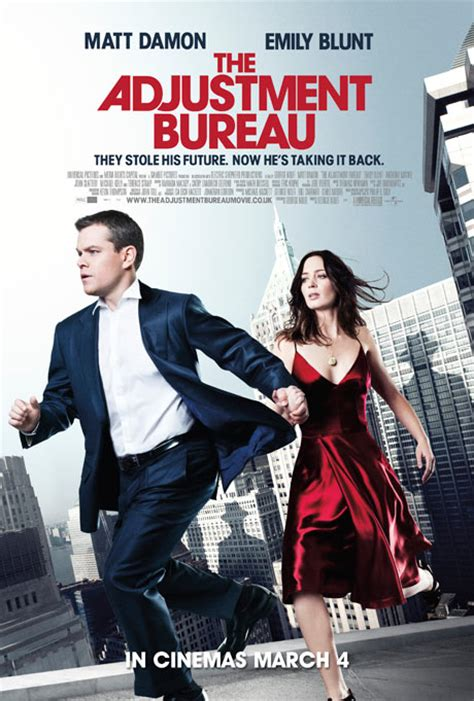 the bureau i 39 m coming out the adjustment bureau