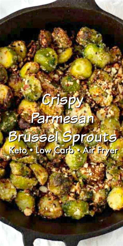 sprouts air fryer brussel keto parmesan crispy recipes stylishcravings broccoli brussels cabbage cheese