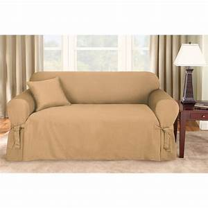 Sure fitr logan sofa slipcover 292830 furniture covers for Sure fit sectional sofa covers