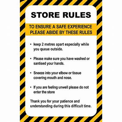Rules Corflute Nz Sign
