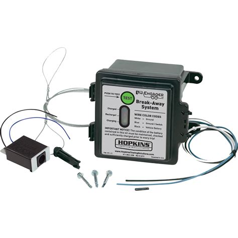 Hopkins Towing Solutions Engager Breakaway Kit With Led