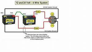 Solved  Wiring Diagram For 12  24 Volt System