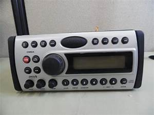 Clarion Cmd4 Marine Stereo Head Unit W   Wire Harness