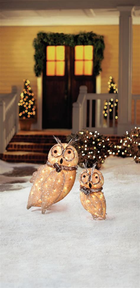 outdoor decorations owl we want for is to decorate then celebrate