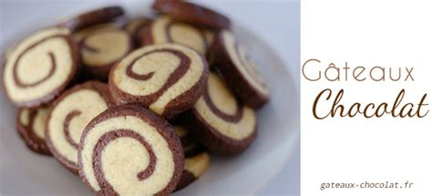 recette facile des sables escargot vanille chocolat