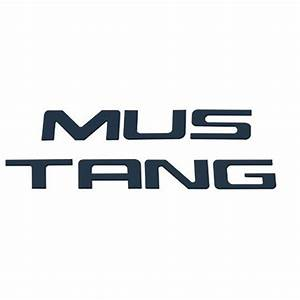 1999 2004 ford mustang black stainless steel rear bumper With 2004 mustang bumper letters