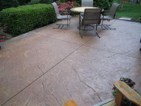 how to resurface a patio concrete patios designs ideas st louis mo imprinted concrete