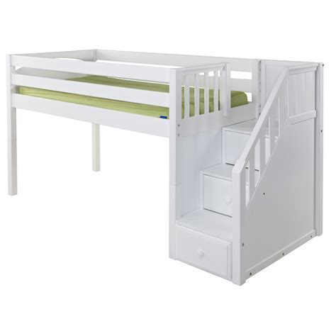 loft bed great low loft bed with staircase rosenberryrooms com