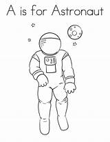 Astronaut Coloring Pages Printable Astronomy Space Twistynoodle Astronauts Sheets Printables Draw Nasa Austronaut Iamges Children Nature Adults Theme Adult sketch template
