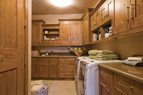 rustic cabinets for laundry room rustic laundry room with wood accents farmhouse