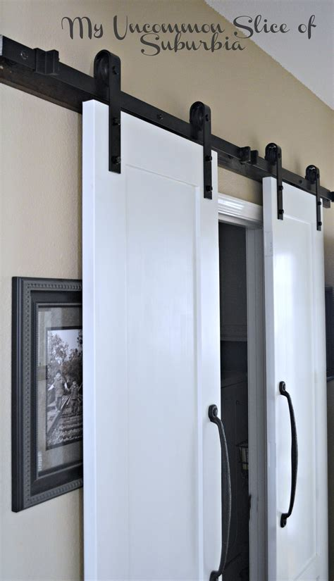 installing a barn door 12 diy home improvement projects my uncommon slice of