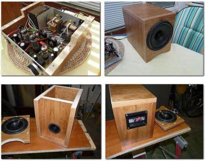 panasonic fullrange speakers diy audio projects photo