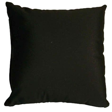 Black Throw Pillows by Black Sunbrella Outdoor Throw Pillow Dfohome