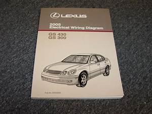 2005 Lexus Gs430  U0026 Gs300 Sedan Electrical Wiring Diagram