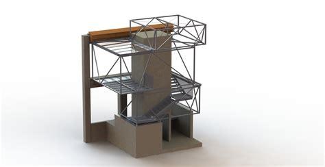 cage d escalier exterieur ouvrages complexes2 rdmetal bureau technique construction m 233 tallique