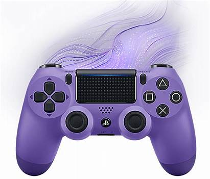 Purple Controller Ps4 Electric Dualshock Playstation Wireless