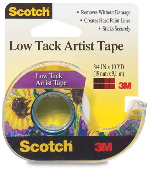 tape tack low artist scotch dickblick
